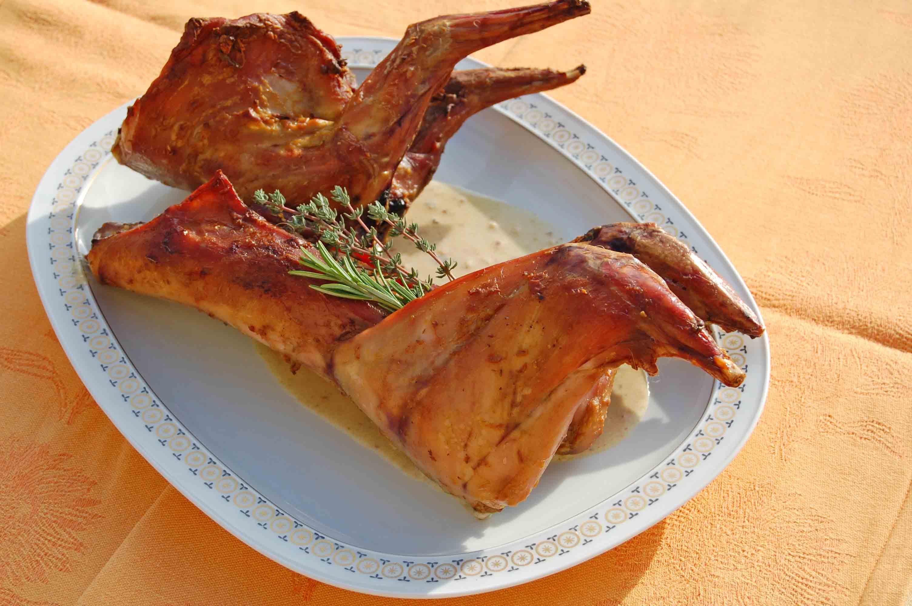 nos lapins fermiers sont des produits locaux (drome ,Ardèche)