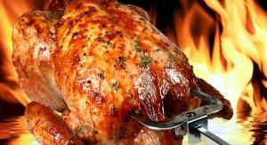 poulet a la broche