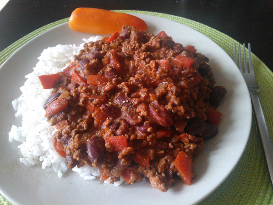 Formule chili con carne foodtruck30 - Chili con carne maison ...